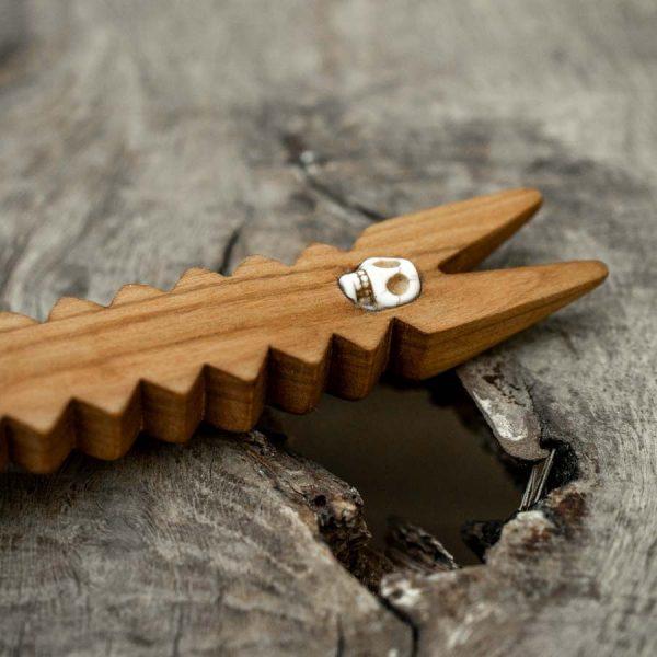 Cuillère en bois Antilope artisanale