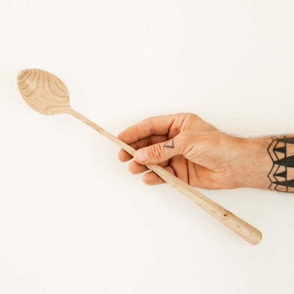 Cuillère artisanale en chêne Arrow WildSpoons
