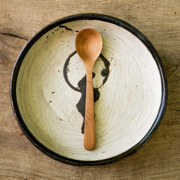 Cuillère en bois pour céréales du matin en bois céréales killer Wild Spoons
