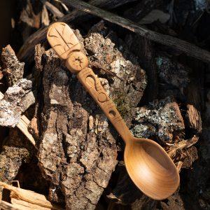 Cuillère artisanale en bois MachuPicchu
