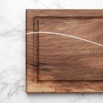 Planche a découper artisanale en bois