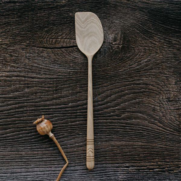 Spatule en bois fabriquée en France