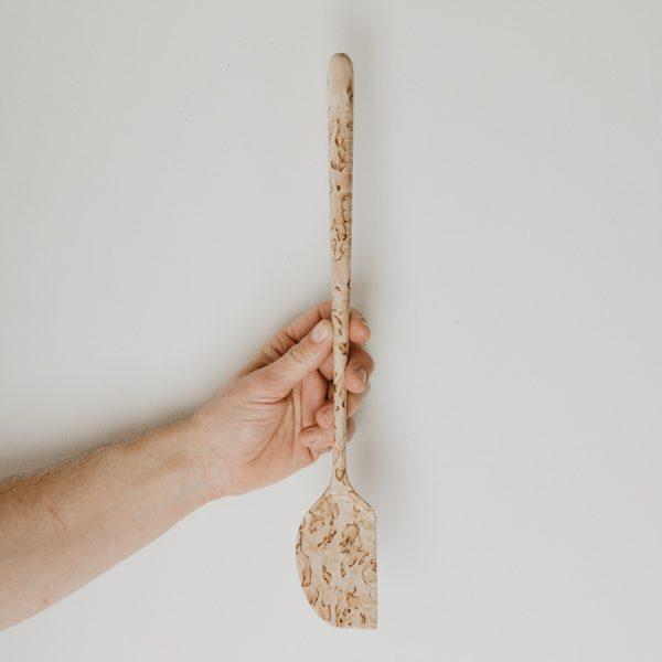 Cuillère en bois de bouleau mardré