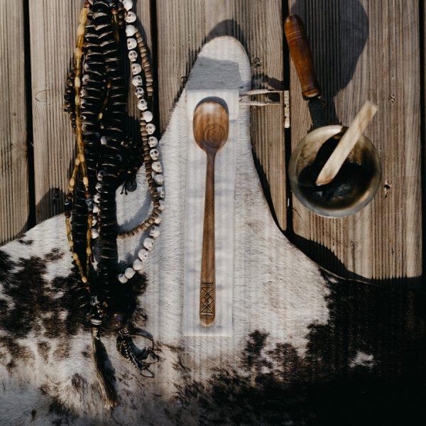 Sculpture cuillère bois
