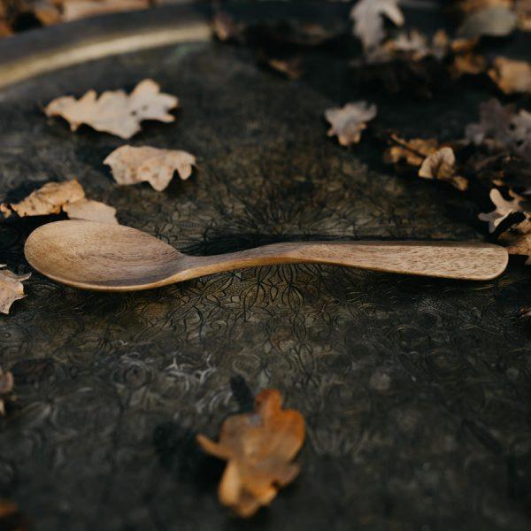 cuillère sculptée en bois