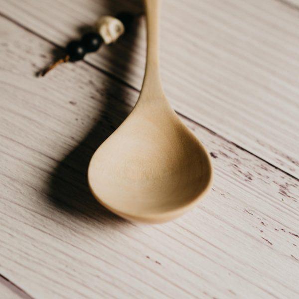 Cuillère artisanale en bois d'érable