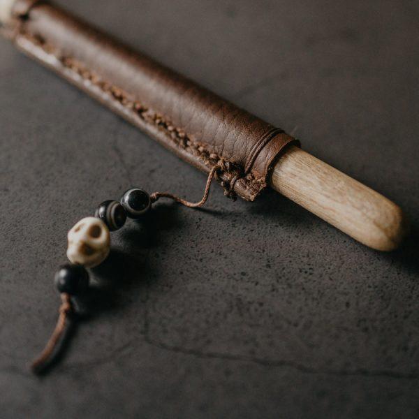 Cuillère bois sculptée à la main