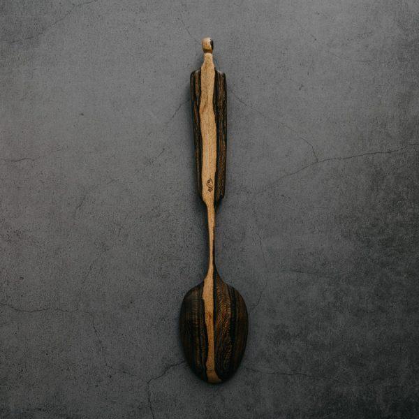 Cuillère sculptée Ziricote