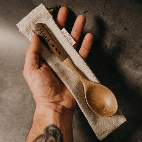 cuillère artisanale en bois
